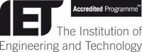 IET Accredited programmes logo