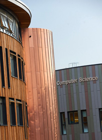 203px picture of the Computer Science and Ron Cooke Hub buildings on Heslington East