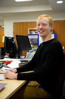 Picture of James Williams, PhD student in Computer Science