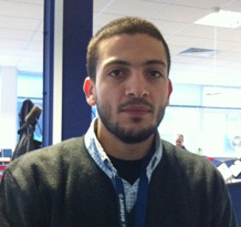 Picture of Hasheem Ali Ghazzawi, Engineering Doctorate student